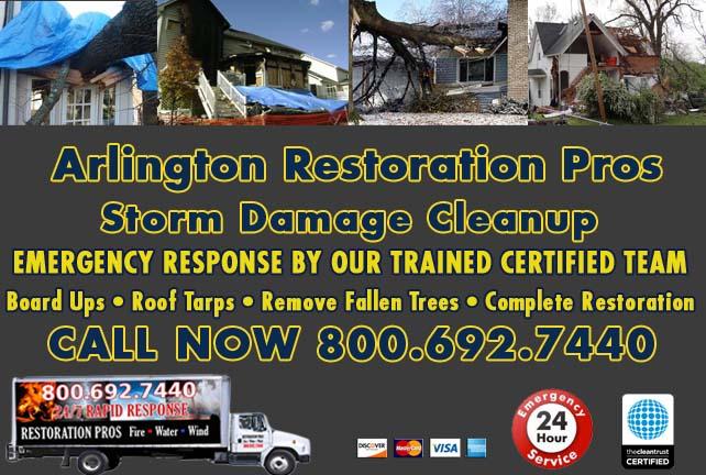 Arlington Storm Damage Cleanup