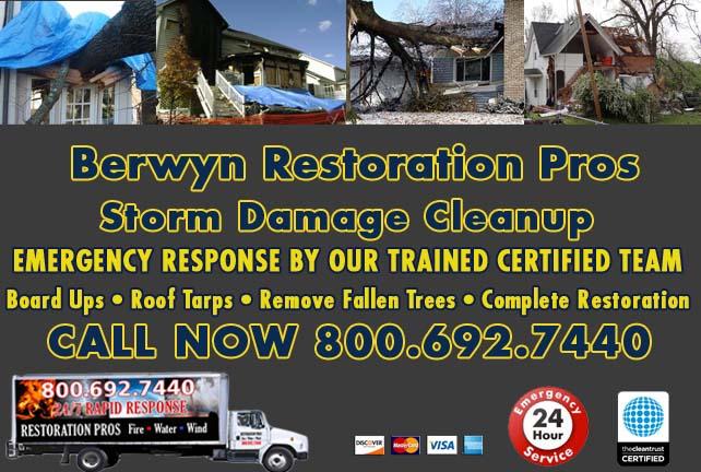 Berwyn Storm Damage Cleanup
