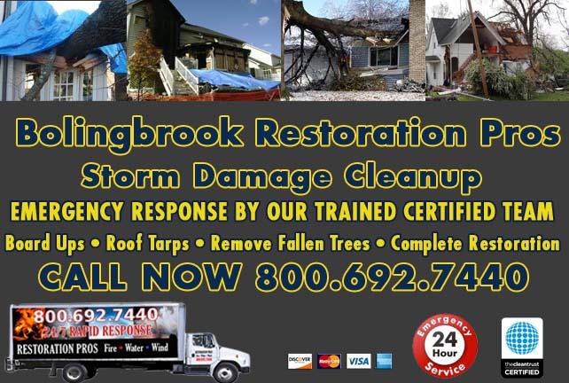 Bolingbrook Storm Damage Cleanup