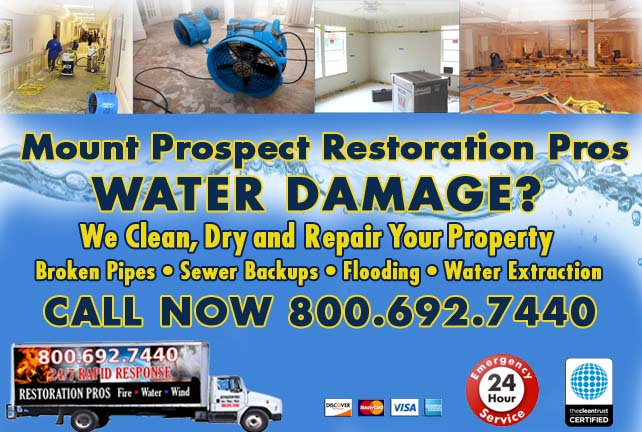 Mount Prospect water damage restoration