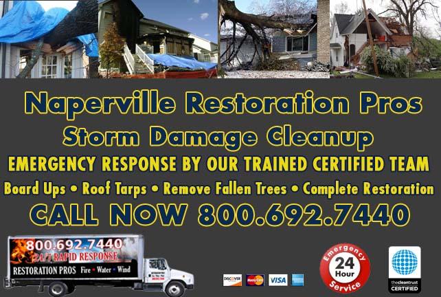 Naperville Storm Damage Cleanup