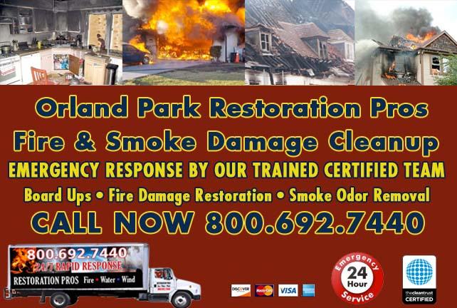Orland Park fire damage repair