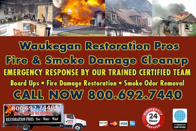 Waukegan fire damage repair